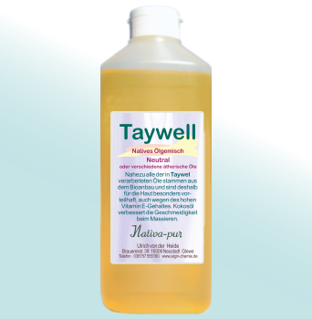 Taywell ayurvedisches Massageöl 500ml neutral